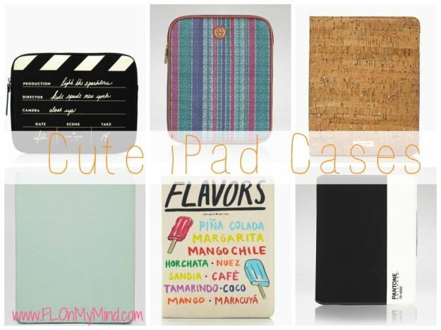 cute iPad cases kate spade, tory burch,