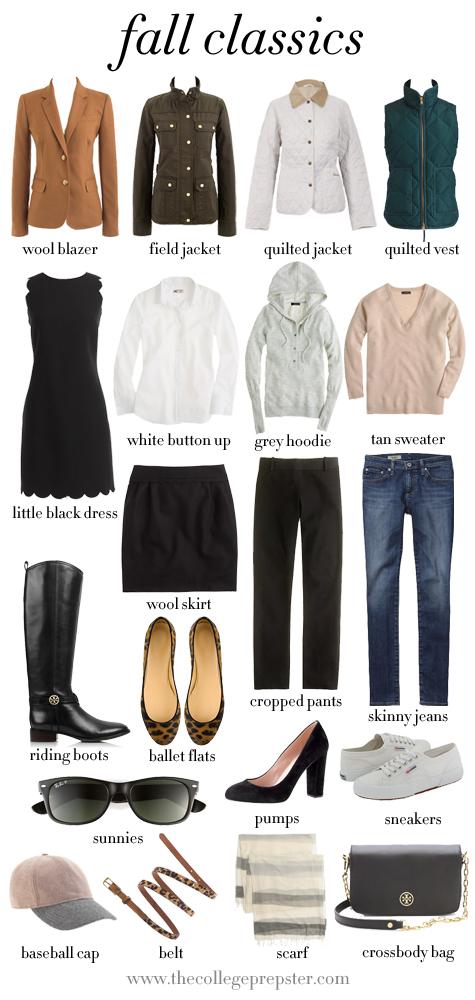 Fall Classic Wardrobe