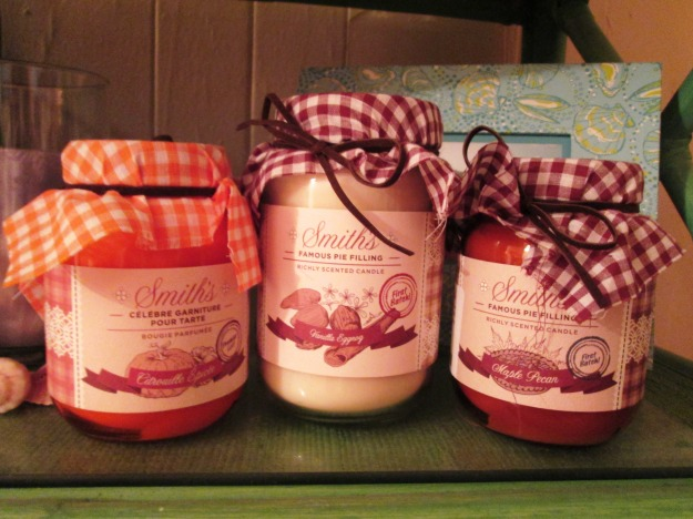 Smith's Pie Filling Candles