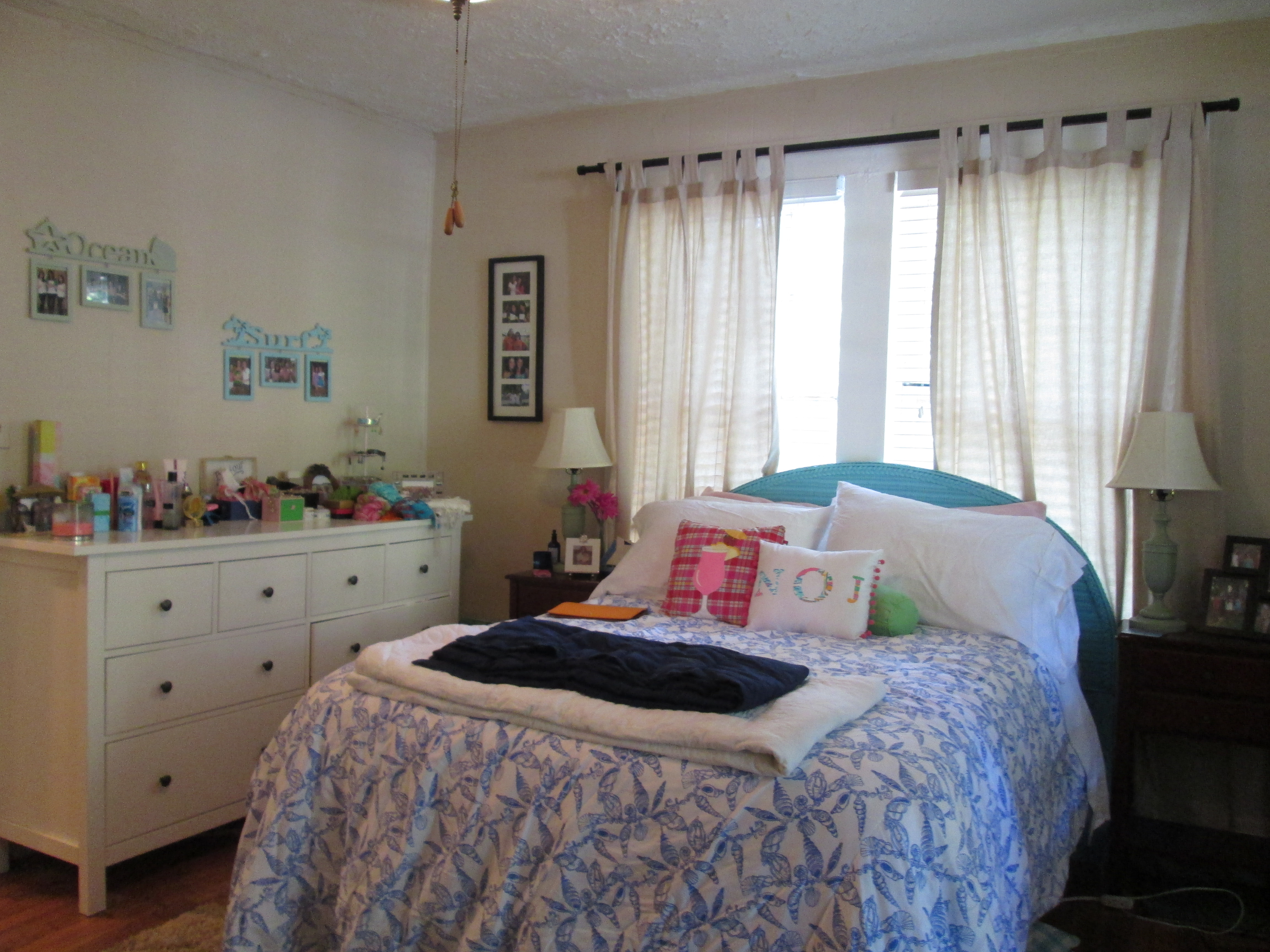 Coastal Preppy Bedroom