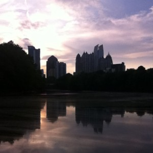 piedmont park sunset