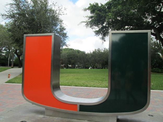 The U Statue