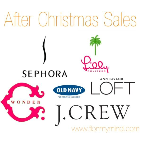 After Christmas Sales | www.flonmymind.com