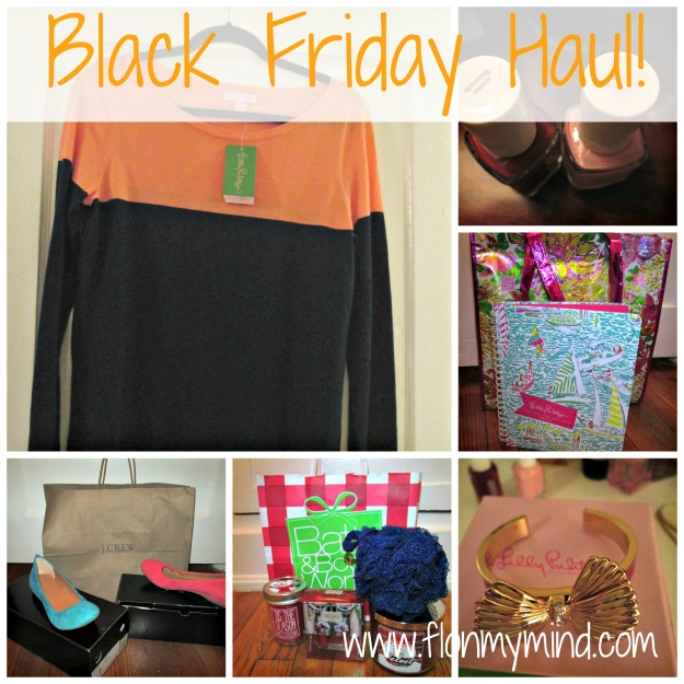Black Friday Haul 2013 | www.flonmymind.com