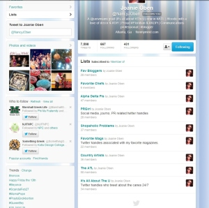 Creating Twitter Lists | www.flonmymind.com