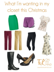 What I'm Wanting This Christmas | www.flonmymind.com