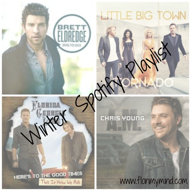 Winter Country Spotify Playlist | www.flonmymind.com