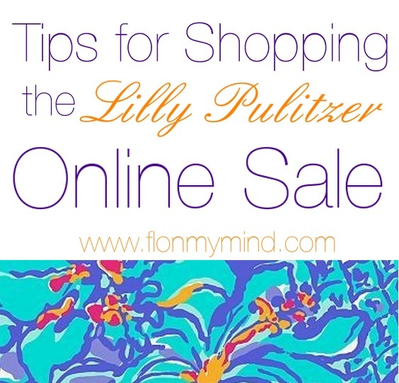 Tips for shopping Lilly Pulitzer online sale | www.flonmymind.com