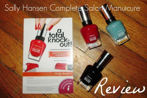 Sally Hansen Complete Salon Manicure | www.flonmymind.com