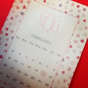 Feb Calendar | www.flonmymind.com