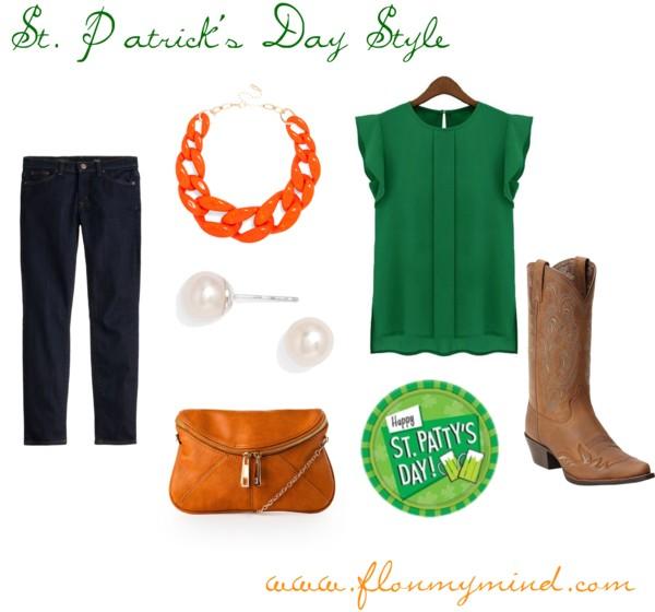 St. Patricks Day Style | www.flonmymind.com