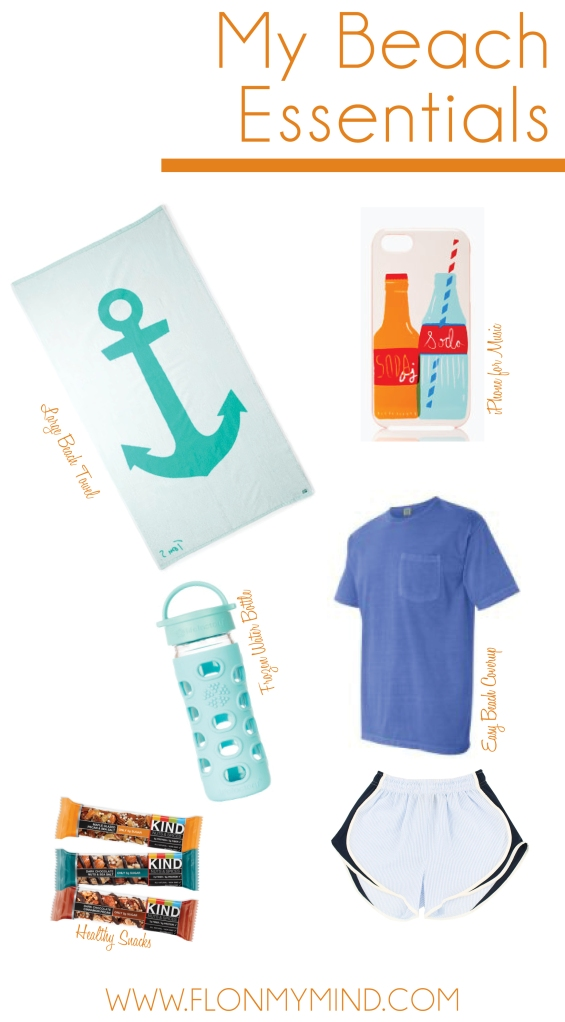 My Beach Essentials | www.flonymind.com
