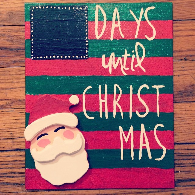 christmas craft - How Many More Days Until Christmas 2014