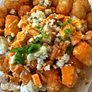 Buffalo Chicken Totchos from The Nook