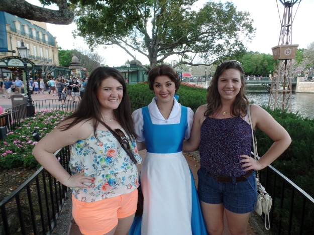I had to include the picture of Belle herself too. :P